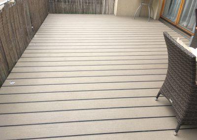 laminátové terasy - imitace dřeva